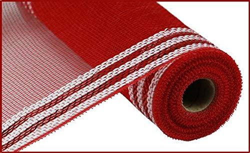 Zierleiste, Metallic-Polyester-Deko-Netz, 26,7 x 4,5 m 10.5