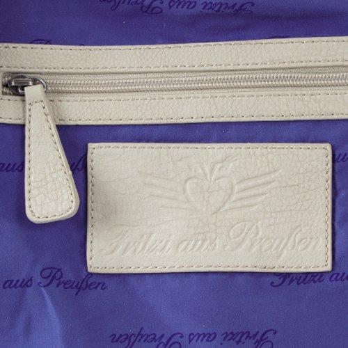 Fritzi Dalla Prussia Cassandra Fap Ss1-14 Borse A Spalla Da Donna 41x50x16 Cm (lxhxp) Bianco (bianco-be 55)