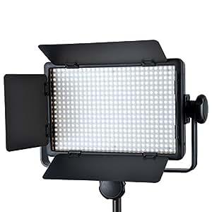 Camkitmate Godox LED500C 3300 K Studio k-5600 LED Vidéo Lumière pour le Caméra DV Caméscope