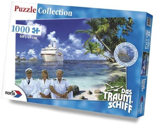 """Preisvergleich Produktbild Noris 60 695 7411 - Das Traumschiff """"in der Bucht""""- 1000-teilig Puzzle"""