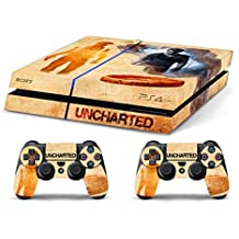 Skin PS4 HD UNCHARTED STORY - limited edition DECAL COVER ADHESIVO playstation 4 SONY BUNDLE