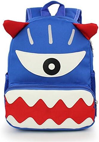 Sac à dos préscolaire Cartable pour enfants cartable oeil dessin animé drôle sac à dos maternelle B07KF7VWLJ | Une Bonne Conservation De Chaleur