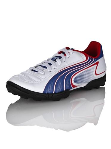 Puma v6,11TT Schuhe Bianco/Rosso/Blu