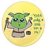 Alicia Souza Yoda badge