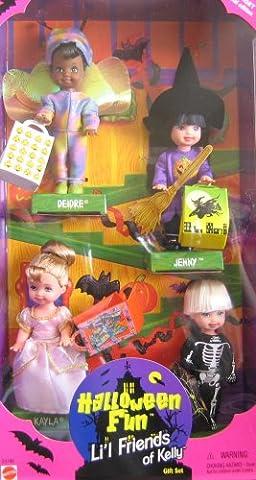 Mattel 23796 Barbie KELLY Halloween Fun Lil Friends of Kelly Gift Set - Target Special Edition (Jenny Halloween-kostüm)