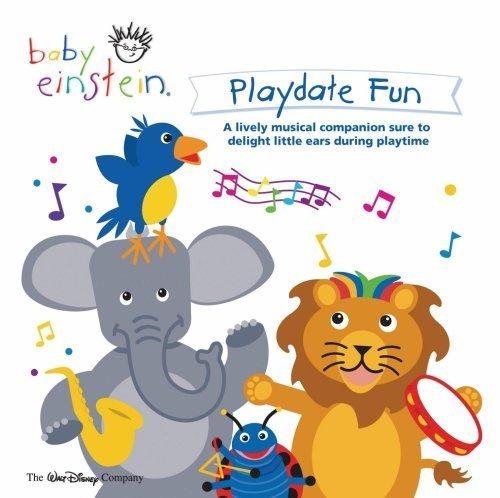 Playdate Fun by Baby Einstein (2006) Audio CD (Einstein Audio)