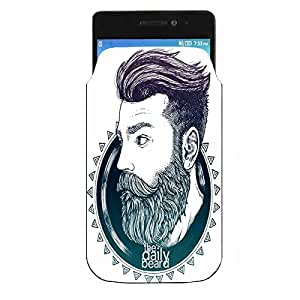 LG K10 2017 Printed Pu Leather Mobile Pouch By Youberry (Mobile Pouch)