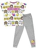 Emoji Maedchen Emoji Schlafanzug 158