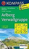 Arlberg - Verwallgruppe: Wanderkarte mit Aktiv Guide, Radrouten und alpinen Skirouten. GPS-genau. 1:50000 (KOMPASS-Wanderkarten, Band 33)
