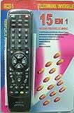 Universal Fernbedienung für TV DVD Sat Receiver HiFi und viele mehr 15 in 1