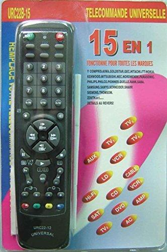 Da 15in 1URC22B–Telecomando universale 15