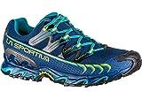 La Sportiva Herren Ultra Raptor GTX Traillaufschuhe, Mehrfarbig (Indigoblau/Apfelgrün 000), 42,5 EU