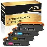 Arcon 4-Pack Kompatibel für Brother TN-326 TN326 TN 326 für DCP-L8400CDN DCP-L8450CDW HL-L8250CDN HL-L8350CDW MFC-L8650CDW MFC-L8850CDW [Schwarz Cyan Magenta Gelb]