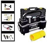 Q&F Reifen-inflator Auto-luftpumpe elektrischer 12v Dc Auto-reifen-inflator-pumpe für auto,Fahrrad und basketbälle-D