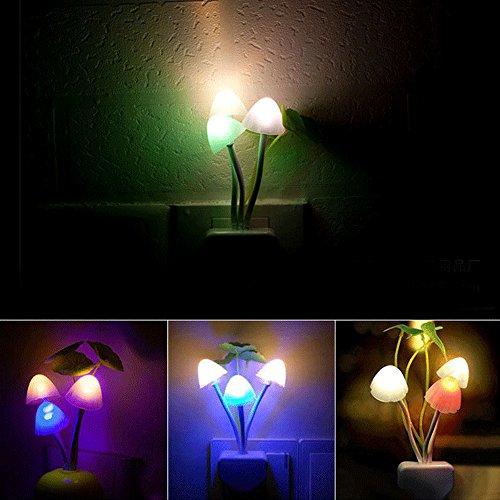 Luce Notturna LED Portatile per Bambini Luce di notte del LED con Sensore lampada Luce Notturna LED Illumina Solo di Notte - La Migliore Idea Regalo 2017