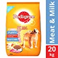 Pedigree Puppy Dog Food Meat & Milk, 20 kg Pack