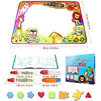 Esterilla inflable para juegos de agua para bebés y niños pequeños, centro de actividades divertido