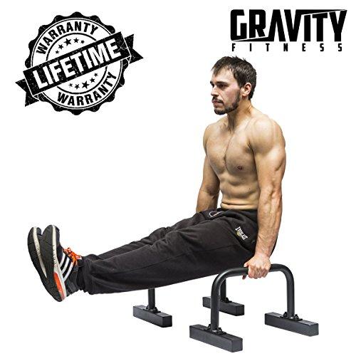 Supporto parallettes per fitness, crossfit, ginnastica, pesistica