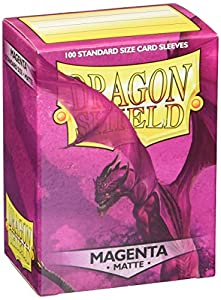 Arcane Tinmen ApS ART11026 Dragon Shield - Fundas para Cartas coleccionables (100 Unidades), Color Magenta