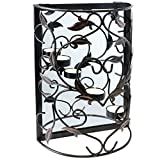 Best Wall Sconces - Hartleys Wall Mounted Tealight Candle Holder & Mirror Review