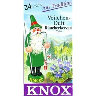 Knox Deutsche Räucherkegel DUFT Veilchen