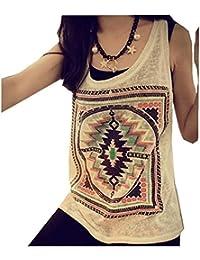 Tops Mujer, Amlaiworld Sin mangas de la blusa retro chaleco de la camiseta las tapas del tanque de la muchacha Las camisetas lindas