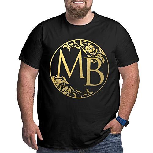 Herren T-Shirt Michael Bolton Rundhals Vintage Kurzarm T-Shirt Aus Baumwolle Große Schwarz XL