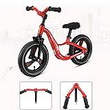 YI HOME- Kind-Schiebendes Auto-Roller-Wanderer-Baby Kein Pedal-Fahrrad Scherzt Spielwaren-Doppelrad 2-6 Jahre Alt,B
