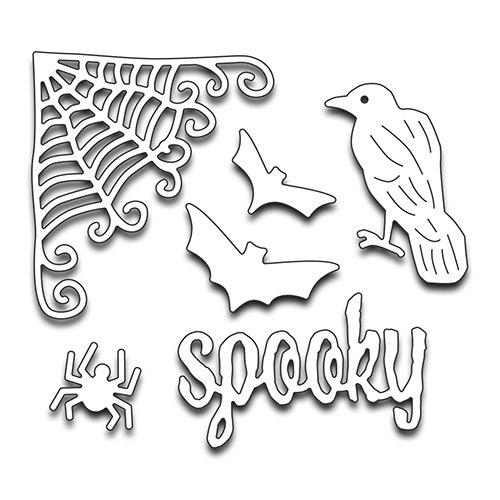 reative Stanzform Metall 51-245 Halloween Kreaturen ()