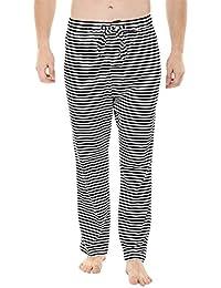 Zobello Zebra stripe knit brushed pyjamas
