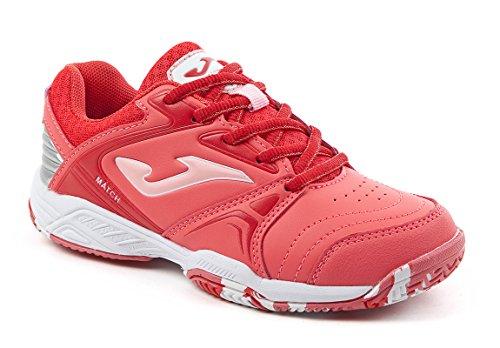 JOMA Match Jr, Zapatillas de Tenis para Niñas, Rosa (Fucsia), 34 EU