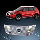Auto Pearl - Premium Quality Car Chrome Front Grill For - Nissan Terrano