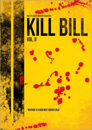 Póster 21 x 30 cm: Kill Bill 2 - Tarantino Minimal