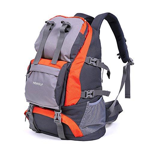 Vitalite-32 Liter Wasserdicht Outdoor Sports Travel Tasche Wanderrucksäcke Trekking rucksäcke Freizeitrucksack Orange