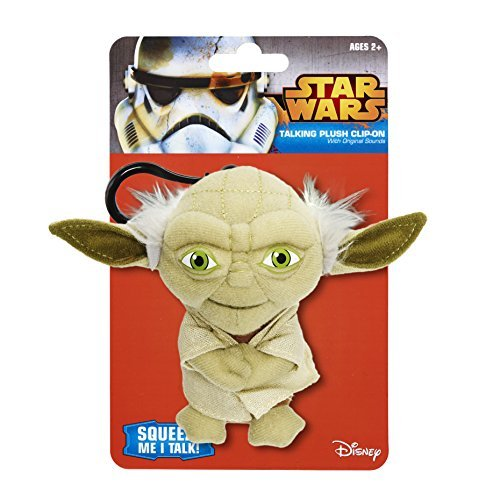 Underground Toys Star Wars Talking Yoda 4 Plush