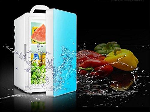 Preisvergleich Produktbild BX 16L Auto Haus Studenten Schlafsaal Mini Kühlschrank , Blue,blue