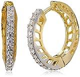 Ava Hoop Earrings for Women (Gold)(E-B-C...
