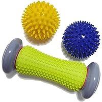 Fuß Massage Roller Spiky Ball Fuß Schmerzlinderung Massagegerät Plantarfasziitis und Ferse Fuß Arch Schmerzen... preisvergleich bei billige-tabletten.eu