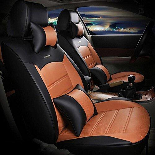 Blended Oxford (SAN Auto Sitzbezug umgeben von 3D Stereo Auto Kissen Superfiber Haut universal vier Jahreszeiten Autositzbezug , 3)