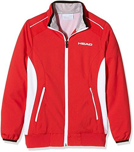 HEAD Oberkörper Bekleidung Club Jacket, Rot, M, 814605-RD