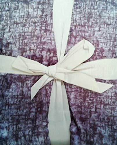 Antilo Plaid Aron 130 x 170 cm Gris (Foulard Multi-usages complément décoration lit et canapé dans Chambre et Salon) 130x170 Mauve