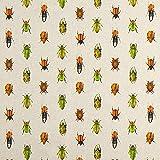 Fabulous Fabrics Dekostoff Halfpanama Käfer – Beige —