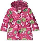 Hatley Girl's Printed Raincoat, Red (Pony Orchard), 2 Years