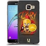Head Case Designs Pour Gloire Spartiates - Illustration Étui Coque en Gel molle pour Samsung Galaxy A3 (2016)