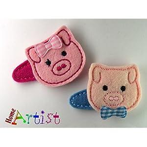Schwein Haarspange für Kleinkinder – freie Farbwahl
