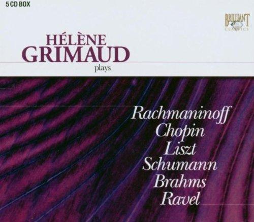 Hélène Grimaud : Les premiers enregistrements (5 CD)