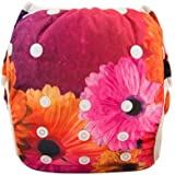Eco Green Baby - Position Printed Swim Diaper - Flowers