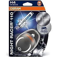 M-Tech ONR1104-02B Night Racer 110 02B H4 P43t 60/55W 12V
