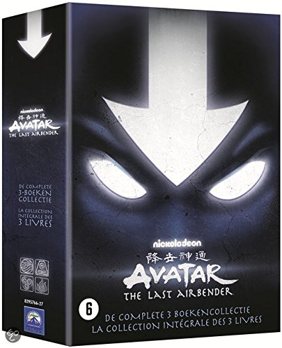 Avatar Der Herr der Elemente Box - Die komplette Serie - Buch 1 + 2 + 3 (Wasser / Erde / Feuer ) (13 DVD Box Set)