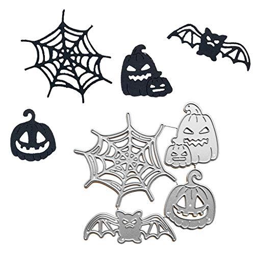 Halloween Dekorationen Rabatt - Halloween Stanzformen Kürbis Spinnennetz Geister Spinnen